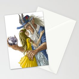 laberinto hip hop belle and the beast mash up Stationery Cards