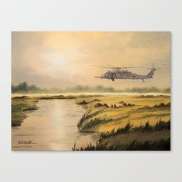HH-60 Pave Hawk Helicopter Canvas Print