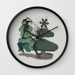 Bush-ido Wall Clock