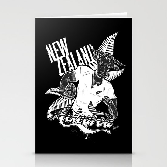 Rugby Cow Stationery Cards