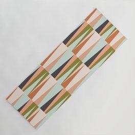 Scandinavian Geometry Pattern green #Homedecor Yoga Mat