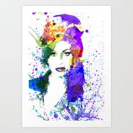 AmyWinehouse Art Print