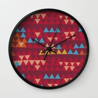 indian Wall Clocks featuring indian by spinL