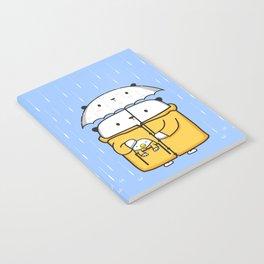 Opi y Kipi en la lluvia Notebook
