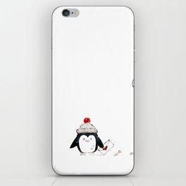 Cute little Penguin in the cap iPhone Skin