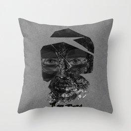 Tornface Throw Pillow