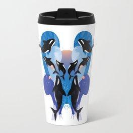orca splash Travel Mug