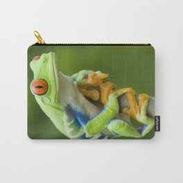 Red-eyed Tree Frog 4 Carry-All Pouch