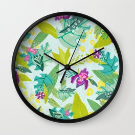 Tropical Retreat Wall Clock