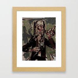 Noseybonk Framed Art Print