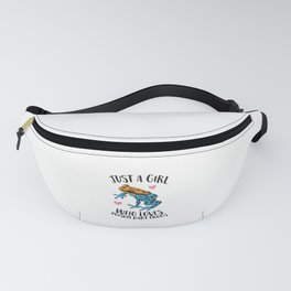 Just a Girl Who Loves Poison Dart Frogs Fanny Pack