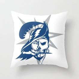 2017 Tampa Bay Sports Teams Logo V.2 Throw Pillow
