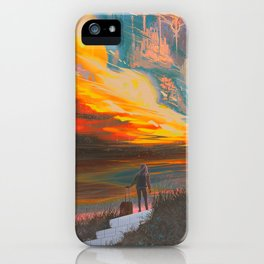 Faraway Neverland iPhone Case