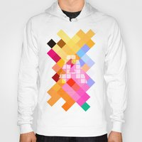 letters Hoodies featuring Letters - A by Alice Z.