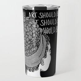 """""""Black Art""""-1 Travel Mug"""