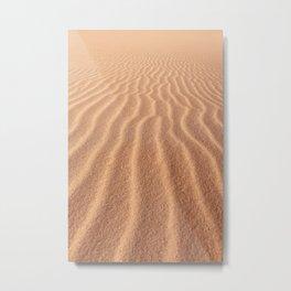Stockton Sand Dunes Metal Print
