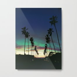 Silhouettes N' Sunets Metal Print