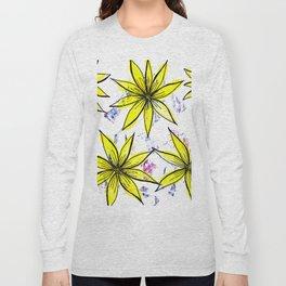 Spring yellow daisies Long Sleeve T-shirt