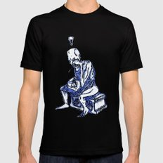 Sketchbook Variants Series: Writer's Block MEDIUM Mens Fitted Tee Black