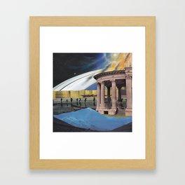 light code Framed Art Print