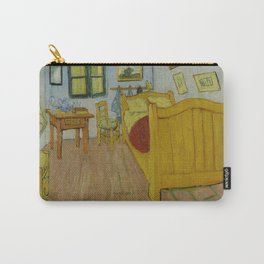 Vincent Van Gogh - The Bedroom October Carry-All Pouch