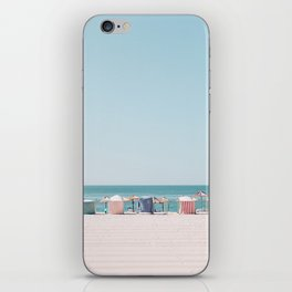 Beach Huts iPhone Skin