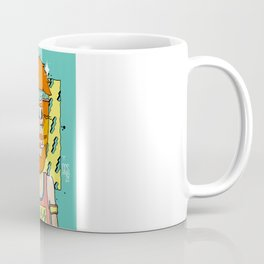 90´Style Barbas Coffee Mug