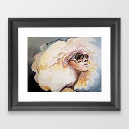 Lavender Heat Framed Art Print