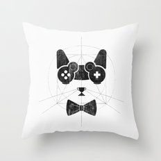 gameow Throw Pillow