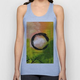 Enso No.MM13I by Kathy Morton Stanion Unisex Tank Top