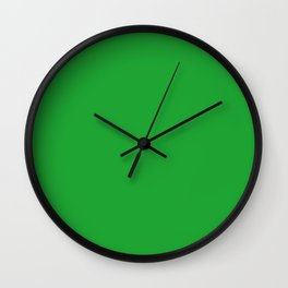 GREEN GREEN Wall Clock