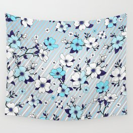 Lovable Flowers 16 Wall Tapestry