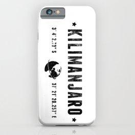 Kilimanjaro iPhone Case