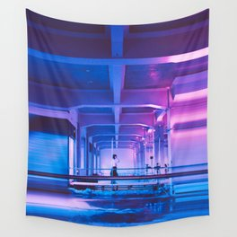 Glitchy Dreams Of You Wall Tapestry