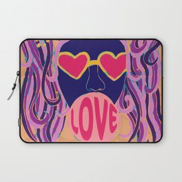 Love Blows Laptop Sleeve