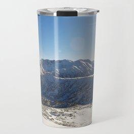 Pirin mountains panorama Travel Mug