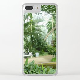 Glasshouse - Lednice Clear iPhone Case