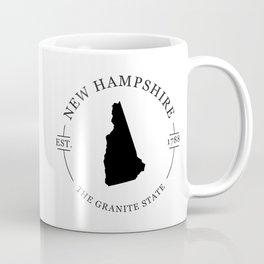 New Hampshire - The Granite State Coffee Mug
