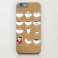 Know Your Coffees iPhone 6 Slim Case
