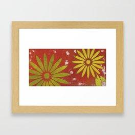 Flowers3 Framed Art Print