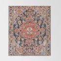 Djosan Poshti West Persian Rug Print by vickybragomitchell