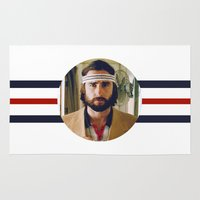 tenenbaum Area & Throw Rugs featuring Richie Tenenbaum by VAGABOND