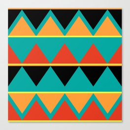 Pizzazz: 1 of 9 Canvas Print