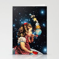 eugenia loli Stationery Cards featuring Maker by Eugenia Loli