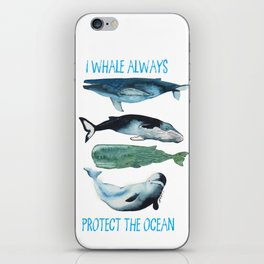 whales alwhales iPhone Skin