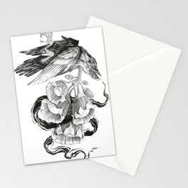 Soul of a Raven Stationery Cards