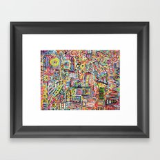 Adventures in Everything Framed Art Print