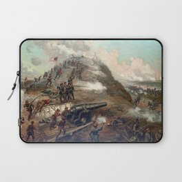 The Capture Of Fort Fisher Laptop Sleeve