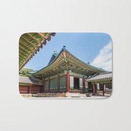 Blue Tile Roof, Changdeokgung Palace, Seoul Bath Mat