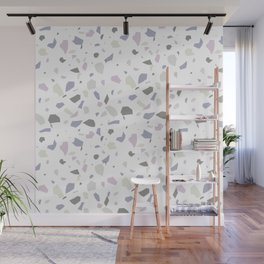 Nobody Knows - Terrazzo Pattern Wall Mural